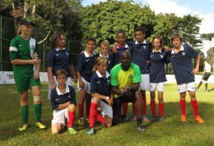Brasilia 2014 match avec Lilian Thuram CMEFE