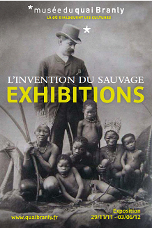 Affiche de l'exposition L'invention du sauvage