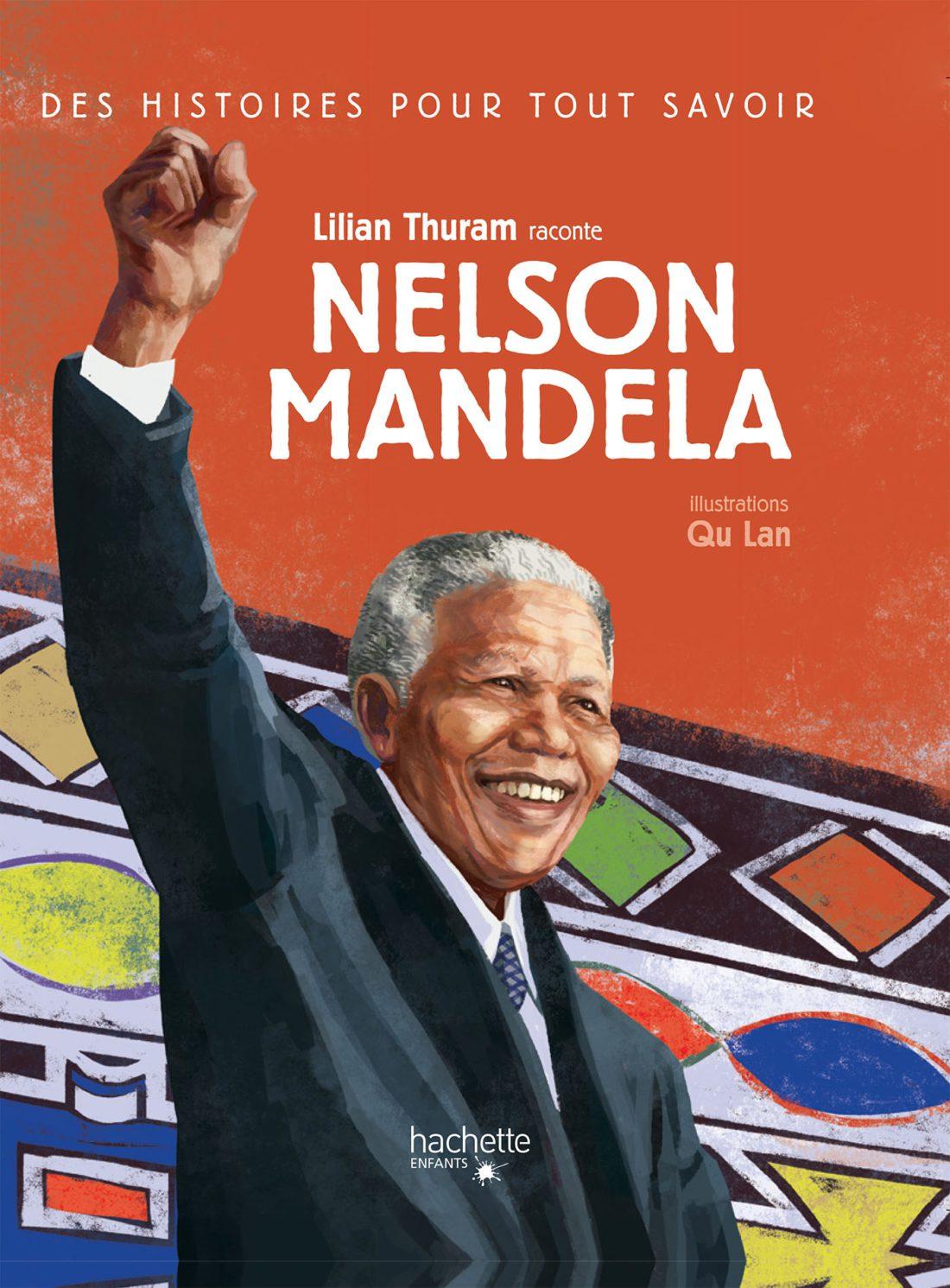 Couverture du livre Nelson Mandela par Lilian Thuram