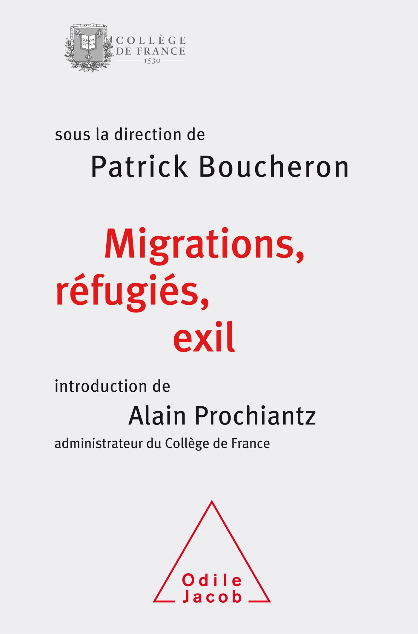 Couverture de Migrations, réfugiés et exil de Patrick Boucheron