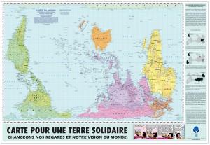 Carte pour une terre solidaire