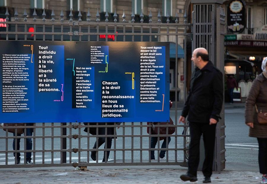 Expo droits de l'homme Paris